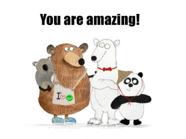 The bear group_you are amazing_small
