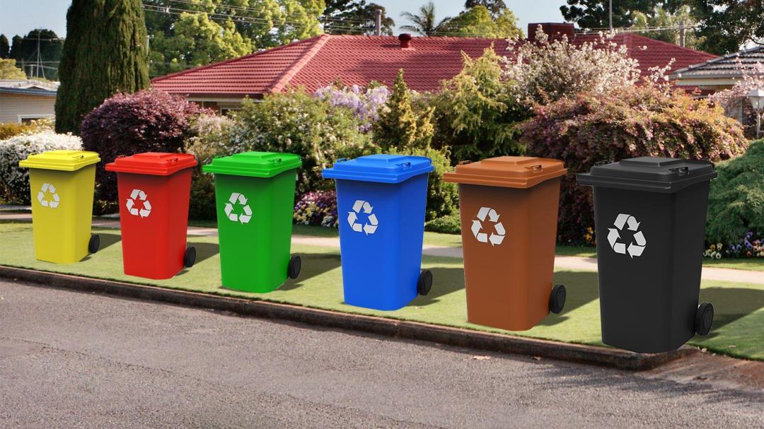 rubbish bins mebourne